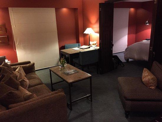 Sofitel Bogota Victoria Regia: The living room in the Junior Luxury Suite - Room 805