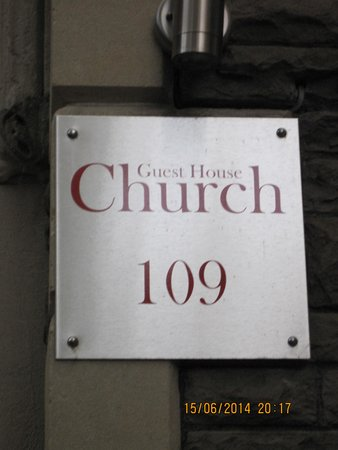 Church Guest House: The place to stay