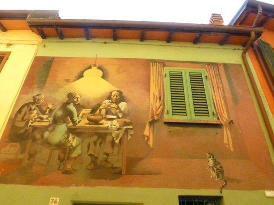 Dozza, Italia: murales 3
