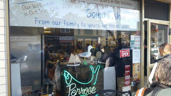 Penrose Fish & Chips: Penrose - Gone fishing, permanently