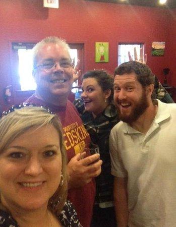 Round Peak Vineyard: Friends and fun at Round Peak