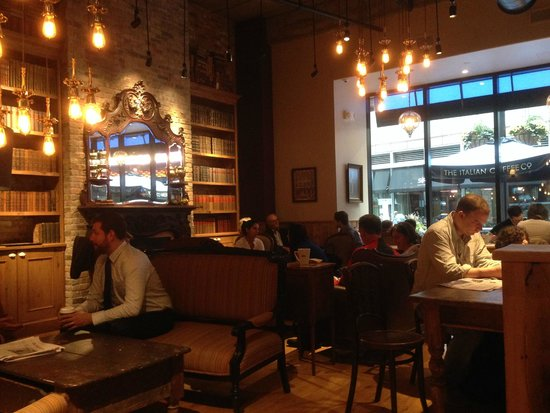 Caffe Nero: Cozy Café   And Excellent Italian Coffee