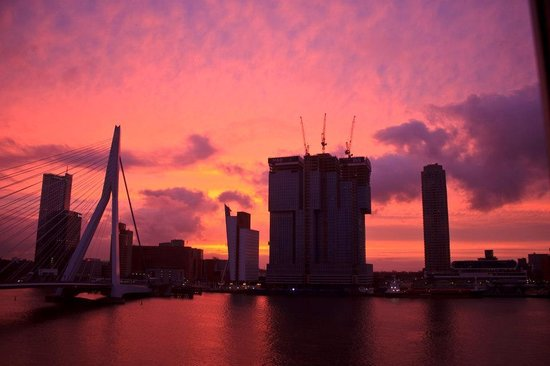 Maritime Hotel Rotterdam : view from my room