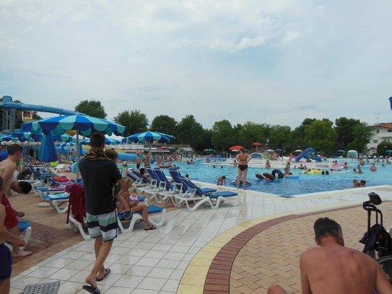 V.T.E. Villaggio Turistico Europa : Poollandschaft