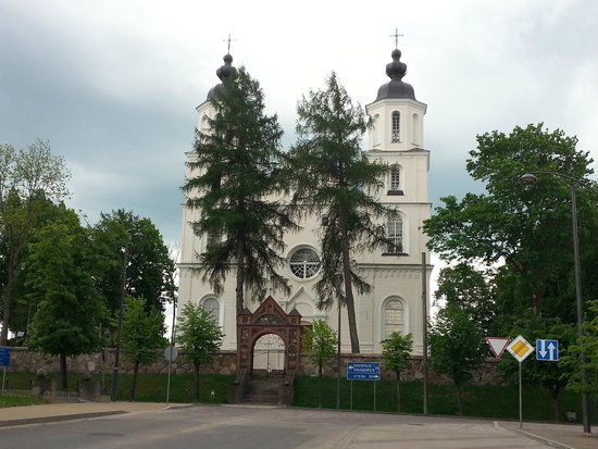 Zarasai, Lituania: Костёл Успения Пресвятой Девы Марии