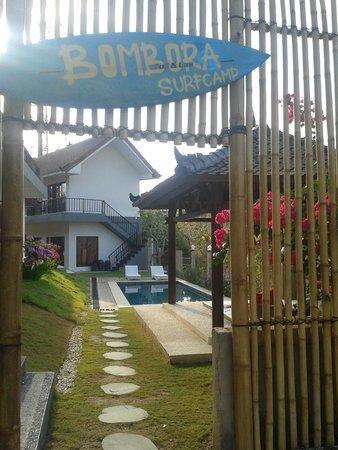 Bombora Surf Camp: Entrance
