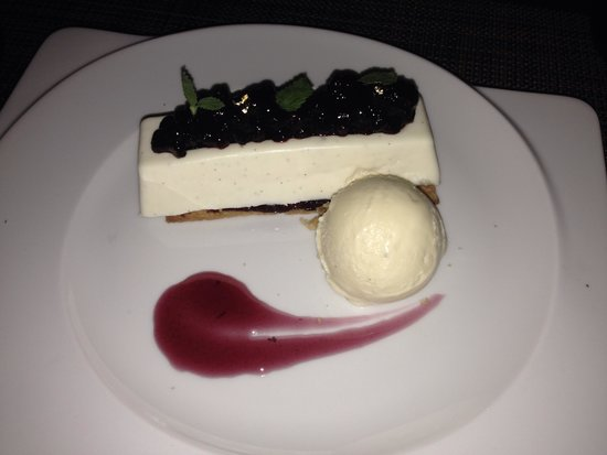 The Conservatory : Marscapone Cheesecake