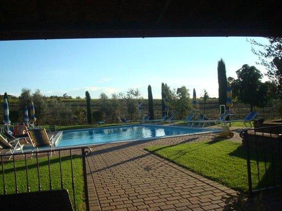 Villa Rosa dei Venti: the pool area