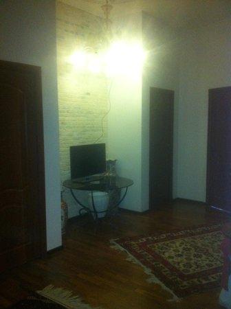 City Loft Rooms: Гостиная