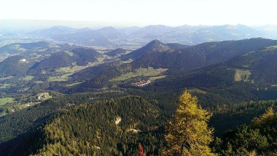 Obersalzberg : Вид с горы