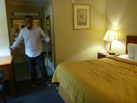 Quality Inn Near Hollywood Walk of Fame: Quarto