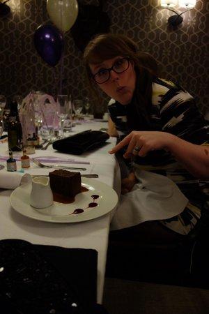 The Dog & Gun Country Inn: Wonderful pudding