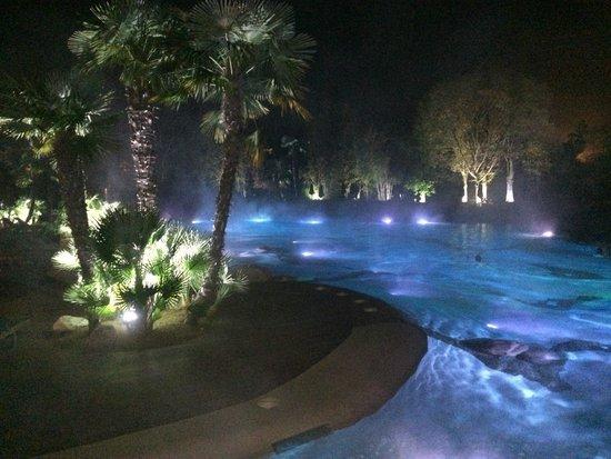 Piscina termale esterna api italia foto di relilax hotel - Hotel preistoriche montegrotto prezzi piscine ...