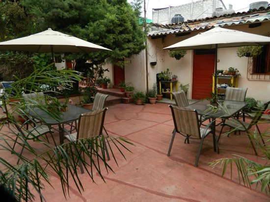 Hostal Casa Gaia: Jardin