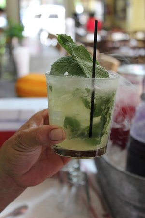 Wine Country Walking Tours : Fresh mint! Fresh everything - all locally sourced ingredients.