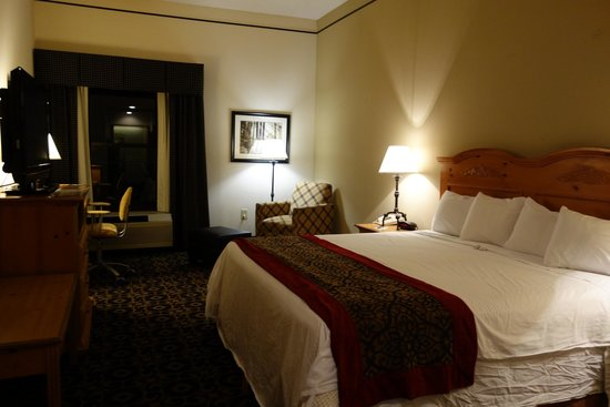 Quality Inn & Suites University: Gorgeous room at the Best Western Blue Ridge Plaza, Boone NC