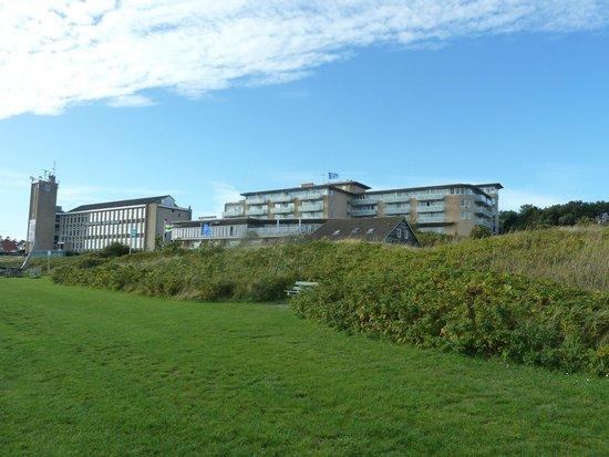 WestCord Hotel Schylge: Zicht op het hotel vanaf de haven