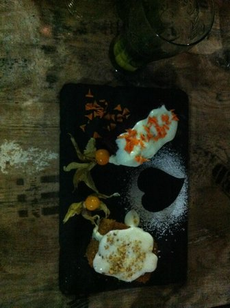 Monkey Bistro & Bar : There is always room for desert