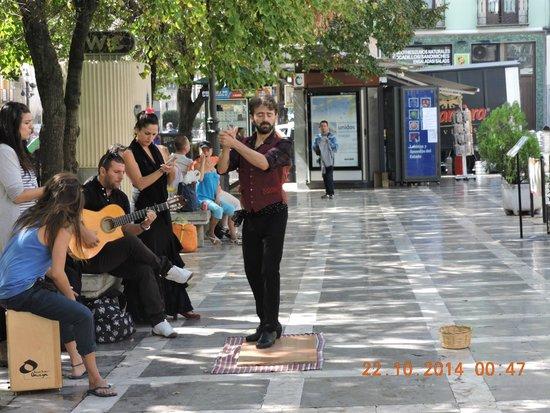Plaza Nueva : Another dancer