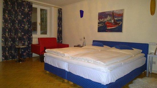 Eilenau Hotel: Zimmer im UG