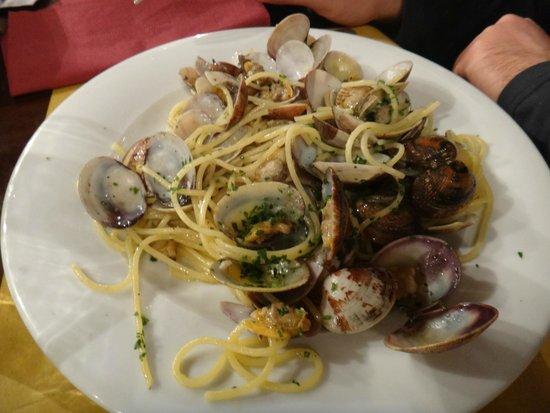 Osteria da Alberto : паста с морепродуктами
