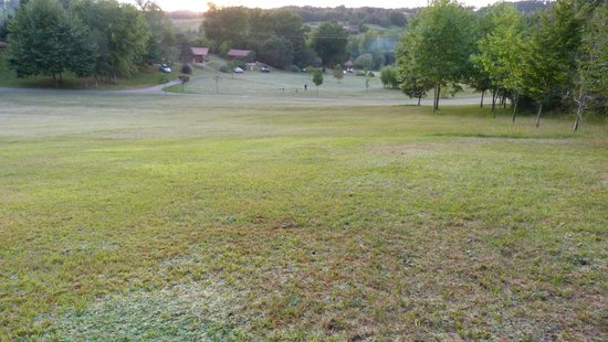 Les Valades: The Hill as the sun went down