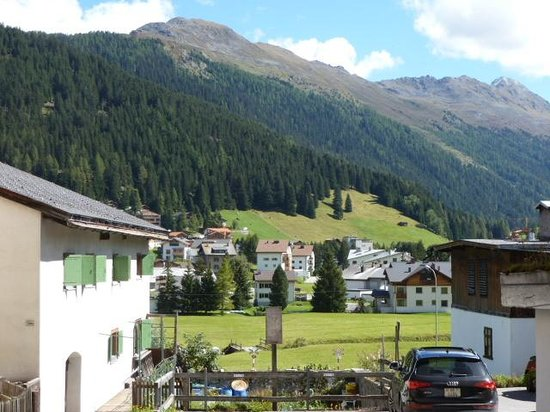 Hotel Edelweiss Davos: Stunning scenery in Davos