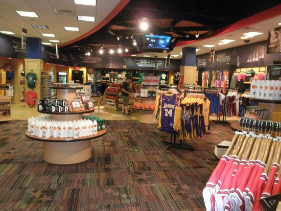 Basketball Hall of Fame: Gift Shop