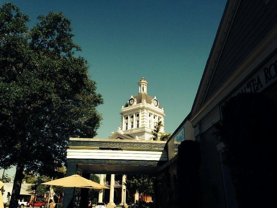 Madison Tea Room and Garden: On the square in beautiful Madison