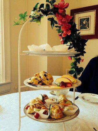 Madison Tea Room and Garden: Tea tray