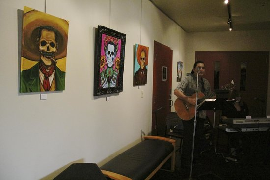 Day of the dead exhibit at TBH Center - Picture of Talento
