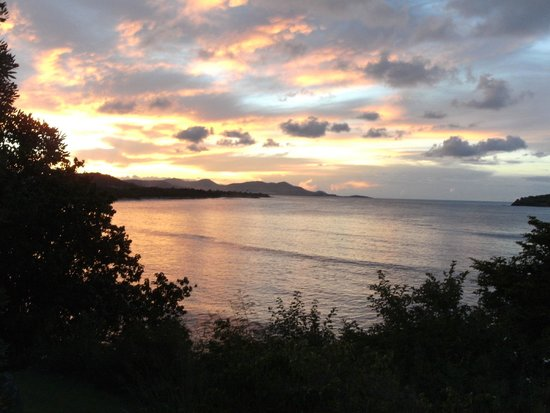 Chenay Bay Beach Resort : Our nightly view