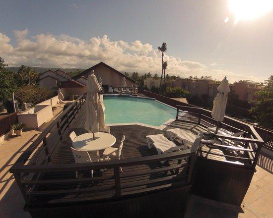 Condo-Hotel Caribey : Piscina principal superior