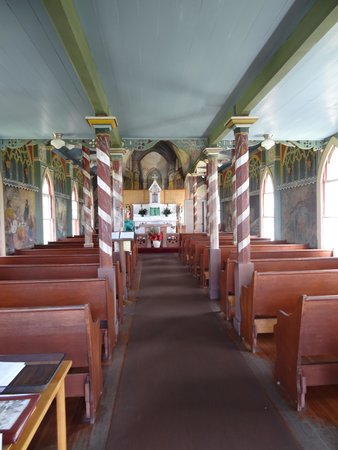 The Painted Church : quiet place to rest