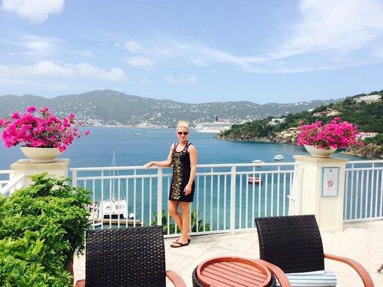 Balcony of St Thomas Port
