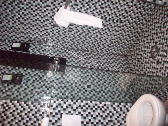 Hotel des Arts Bastille: bagno (doccia)