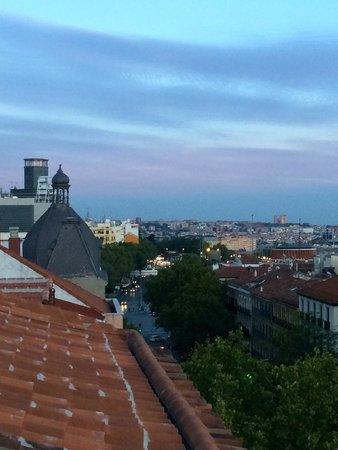 Urban Sea Atocha 113 : View from rooftop lounge