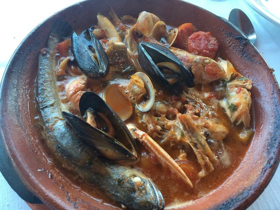 Cavalluccio: Steaming Brodetto (Adriatic Fish Stew)