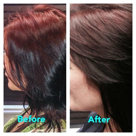 Put a little light in your life with ammonia free highlights happy pretty you reiki salon spa you can enjoy deep rich reds with pmusecretfo Image collections