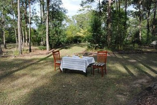 Callala Beach, Australia: Alfresco breakfast included in price