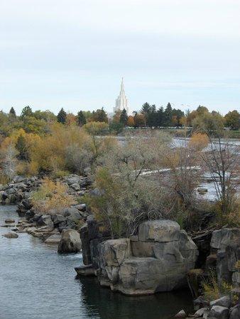Residence Inn Idaho Falls: Just Across the Street