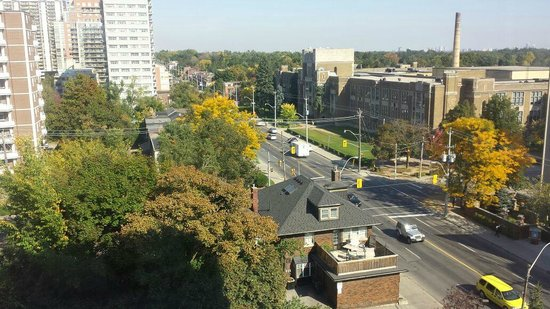 BEST WESTERN Roehampton Hotel & Suites : Vista do Quarto