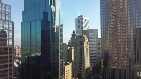 Minneapolis Marriott Southwest: View from the 20th floor