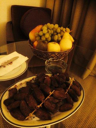 El Aurassi Hotel : Les fruits (qui m'ont sauvé la vie!)