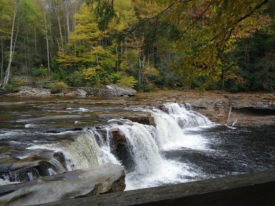 New Tygart Flyer : Waterfall