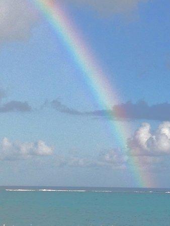 Grace Bay: Rainbow morning