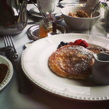 Cullinan's Guesthouse: Pancakes (davvero deliziosi)