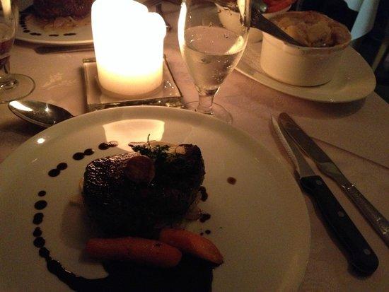 Cullinan's Guesthouse : Delizioso filetto