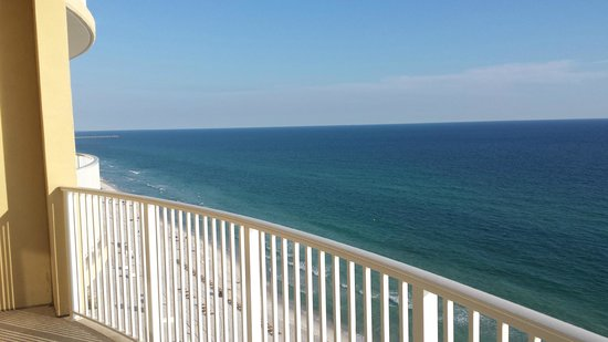 Emerald Isle Resort and Condominiums : Balcony view