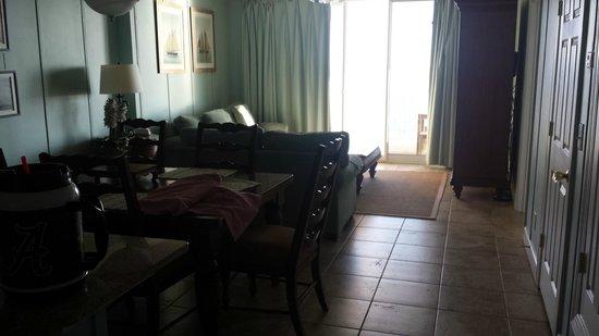 Emerald Isle Resort and Condominiums : Den area